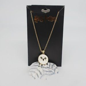 NWT Harry Potter Hedwig the Owl Necklace